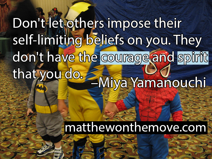 Don't Let Others Impose Self-Limiting Beliefs